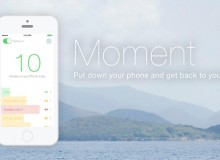 Moment App helps you to stop the over usage of smart-mobiles
