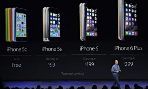 Apple unveils iPhone 6 and iWatch, Cupertino, California, America - 09 Sep 2014
