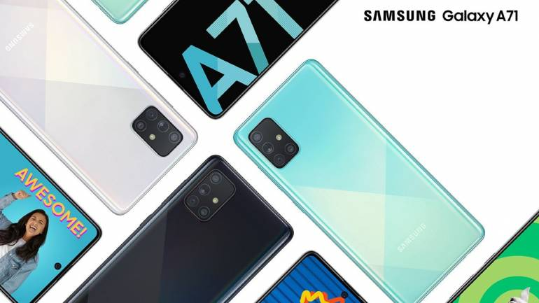 For The First Time In India, Samsung Galaxy A72 Is Available.