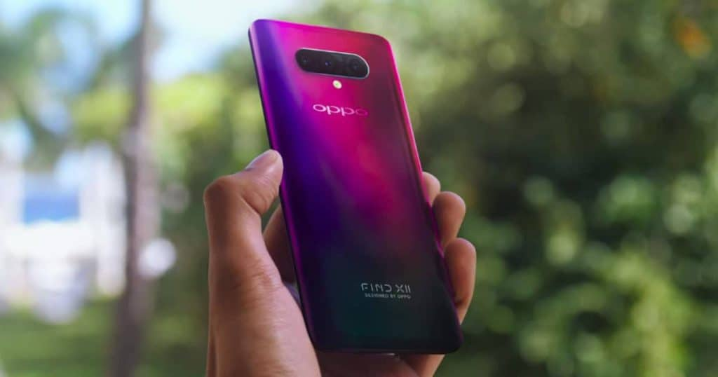 Oppo Find X2 could be supported by fast charging 30W wireless