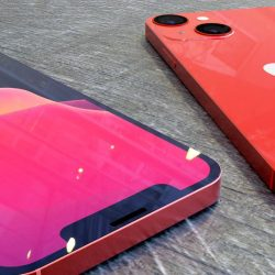 In high-resolution renders, the iPhone 13 Product Red version can be seen