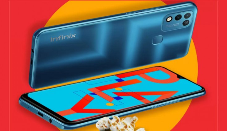 Infinix Hot 10 Play comes with a 6000mAh battery and a 6.82-inch HD+ camera