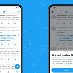 To limit the spread of disinformation, Twitter will categorise its messages into three categories