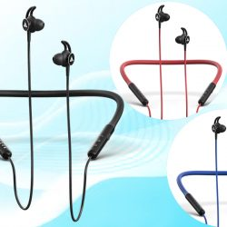 In India, the Boult Audio ProBass Escape Neckband-Style Headphones with a 10-Hour Battery Life have been released