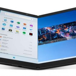 In India, Lenovo has released the ThinkPad X1 Fold, which features a folding 2K display