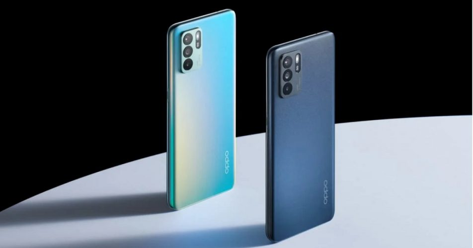 The Oppo Reno 6Z According to Geekbench, it's possible that the MediaTek Dimensity 800U will be included