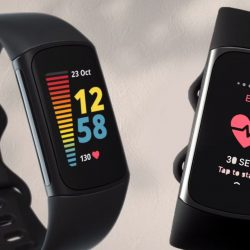 Fitbit Charge 5 Fitness Band with Always-On Display and ECG App