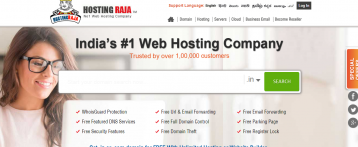 Connectivity and file transfer both rightly met at Hosting Raja