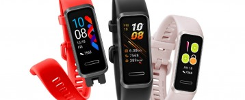 Huawei Band 4 in India with 0.96-inch color display